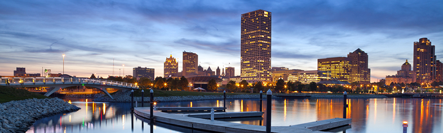 Wisconsin - Milwaukee Skyline